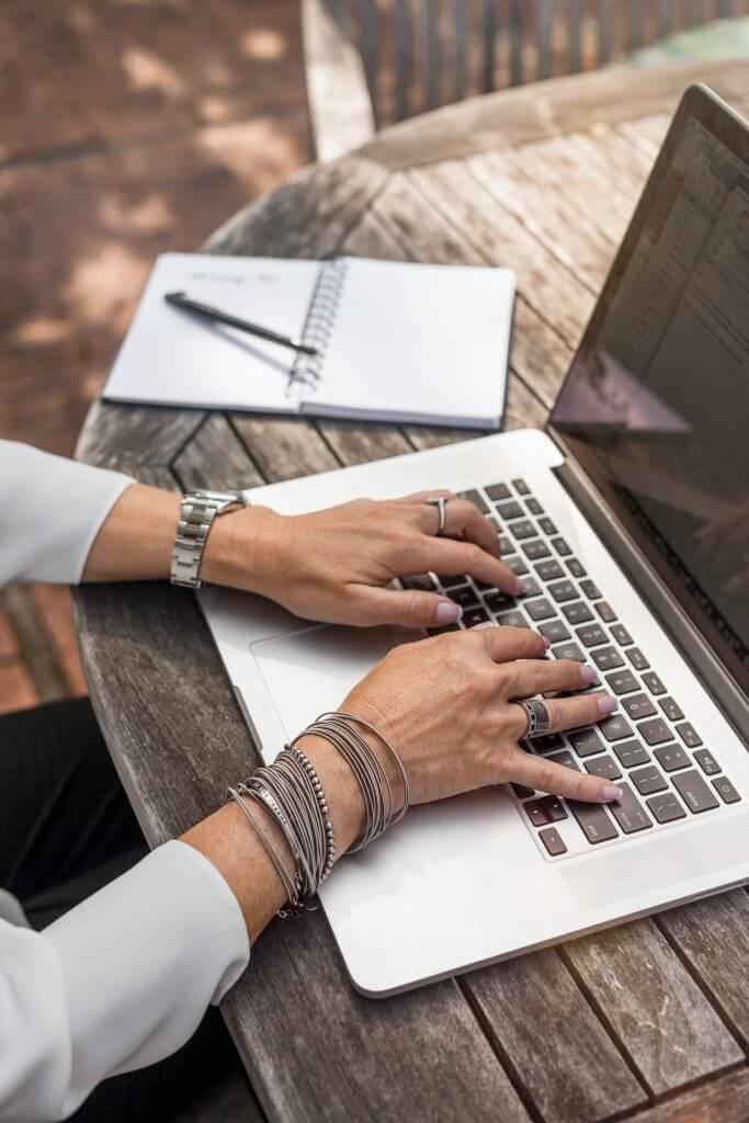 Database analyse op laptop